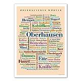 Poster Oberhausener Wörter 50x70 cm