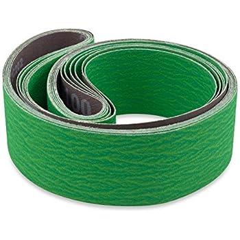 Red Label Abrasives 2 X 72 Inch 120 Grit Metal Grinding Ceramic Sanding Belts Extra Long Life 6 Pack Amazon Com
