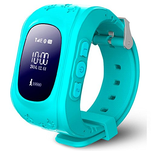 E-NUC Reloj Security GPS Kids G36 Celeste