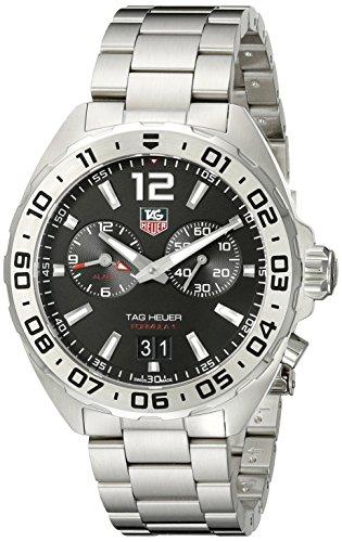 TAG Heuer Herren-Armbanduhr Armband Edelstahl Schweizer Quarz WAZ111A.BA0875
