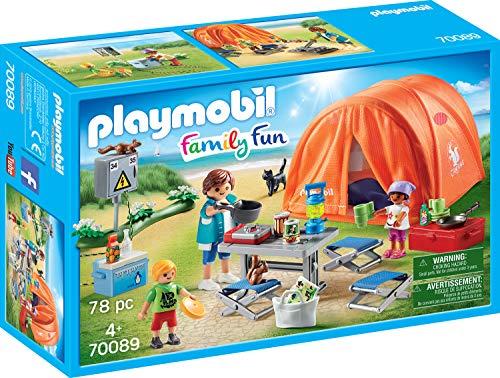Playmobil 70089 Family Fun Family Fun Camping, Multicolore - Version...