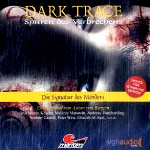 Die Signatur des Mörders audiobook cover art