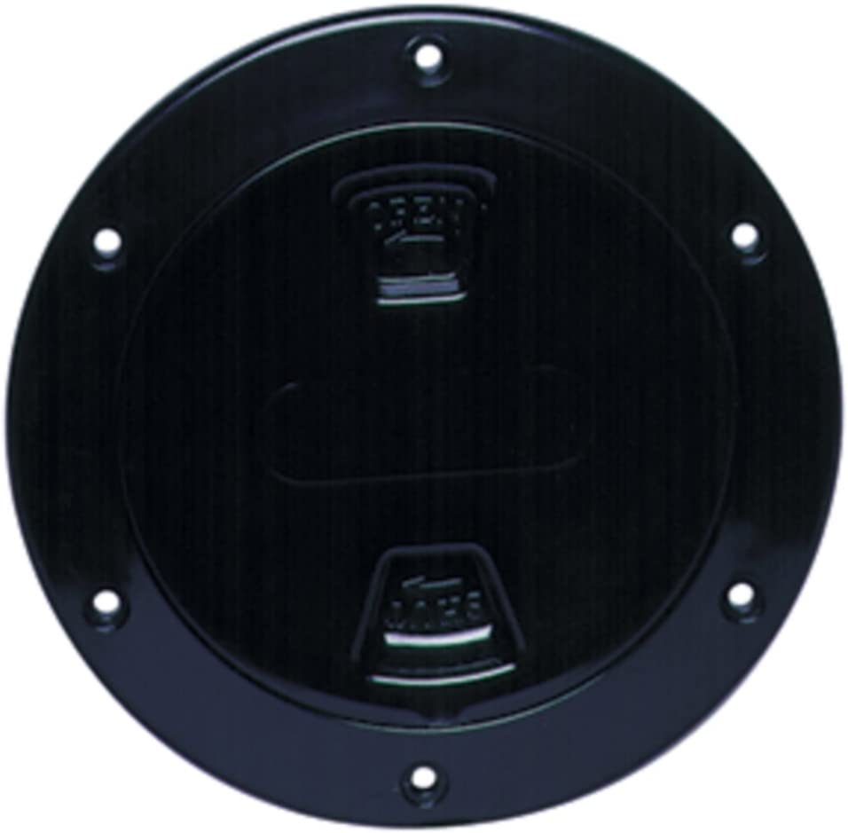 Beauty products Large special price !! Beckson DP40B New Black 4 Screw-Out Smooth M Center Plate Deck W