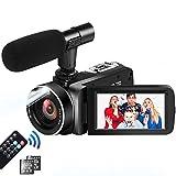 4K Camcorder Videokamera Ultra H...