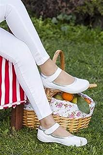 TARÇIN Hakiki Deri Günlük Kadın Babet Ayakkabı TRC50-0486