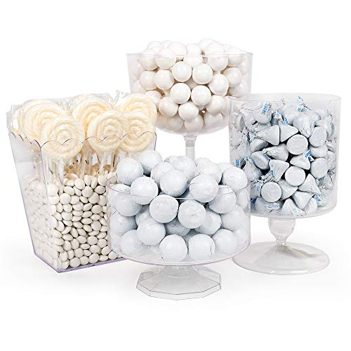 White Candy Buffet Supplies (Approx 14 lbs) White Candy Table Supplies