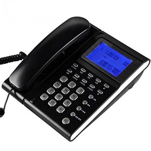 Téléphone Liuyu · Maison de Vie Mode Caller ID Fixe Bureau Ménage Fixe (Color : Blue)