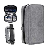 Portable Insulin Travel Case - Medication Diabetic Supplies Organizer Medical Bag by YOUSHARES (Grey)