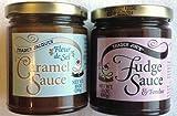 Trader Joe's Combination Pack of Fudge Sauce/Fondue and Caramel Sauce