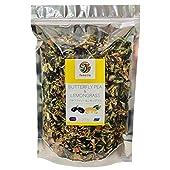 バタフライピー&レモングラス【特大200g】ミックスドライ天然茶葉『ハーブティー』【無農薬・天然乾燥・無添加】Butterflypea & Lemongrass ( Mix ) Herb Tea 200g『CIVGIS / Functia チブギス・ファンクティア』