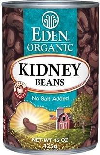 Eden Organic Kidney Beans, No Salt Added, 15-Ounce Cans (Pack of 12) ( Value Bulk Multi-pack)