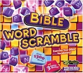 Bible Word Scramble by SELECTMUSIC