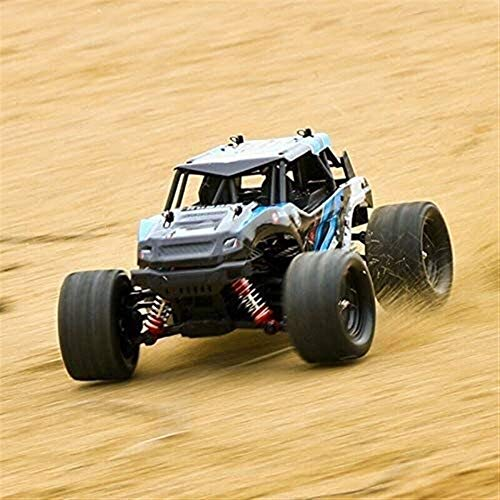 VanFty RC Monster Truck Racing eléctrico CarHigh Speed Buggy Race Distancia de 40 Millas por Hora 1/18 Escala de Alta Velocidad Vehículo de Todo Terreno 45 kmh 2,4 GHz 4WD RC Buggy Camión de Coches
