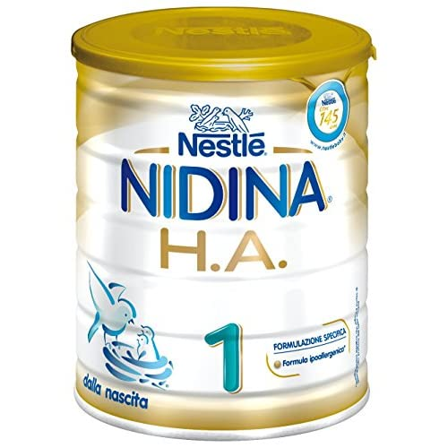 NESTLÉ NIDINA 1 OPTIPRO H.A. dalla nascita Latte per lattanti in Polvere latta 800g