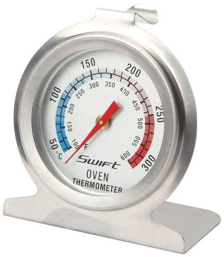 Dexam oventhermometer, met roestvrijstalen behuizing