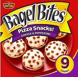 Bagel Bites Cheese & Pepperoni Mini Pizza Bagel Frozen Snacks (9 ct Box)