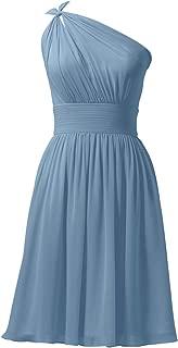 Best steel blue bridesmaid dresses short Reviews