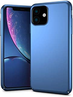Mofi iPhone 11 Case, Hard Thin PC, Blue