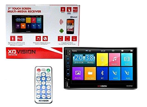 XO Vision xod1651mc 2-DIN Pantalla táctil de 7Pulgadas USB SD FM Car Audio Bluetooth estéreo