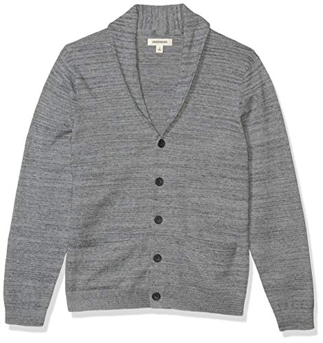 Marca Amazon - Goodthreads Soft Cotton Cardigan Summer Sweater - cardigan-sweaters Hombre