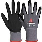 10 Paar Hase Safety Padua Pro Nitril-Arbeitshandschuhe, Rutschfeste Mechaniker-Handschuhe Größe L...