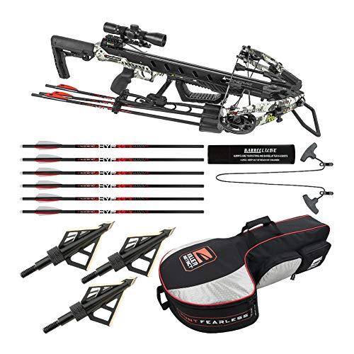 Killer Instinct Ripper 425 Fps Crossbow Package Essentials Bundle (4 Items)