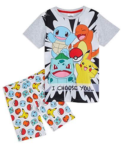 Pokemon Pijama para niños, camiseta y...