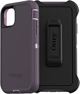 OtterBox DEFENDER SERIES SCREENLESS EDITION Case for iPhone 11 - PURPLE NEBULA (WINSOME ORCHID/NIGHT PURPLE) (Renewed)