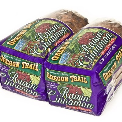 Oregon Trail Raisin Cinnamon with Vanilla Bread - 2/32 oz. - CASE PACK OF 4
