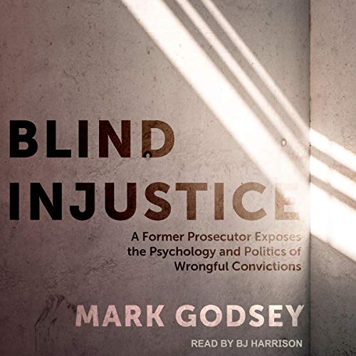 Blind Injustice audiobook cover art