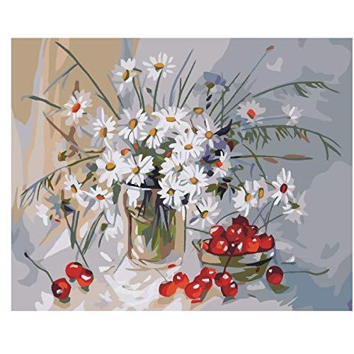 MONIYAOFAFA Digitale Schilderij Ik Zag De Shepherd'S Olie Schilderen Op De Getallen, Diy Digitale Schilderij Op Het Canvas, Acryl Poster, Kleurplaten Met Getallen-40x50