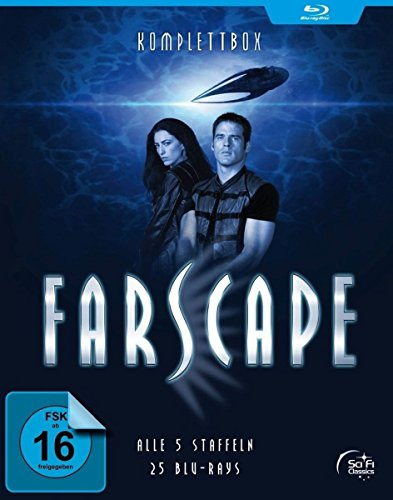 Farscape - Verschollen im All - Staffel 1-5 - Komplettbox [Blu-ray]