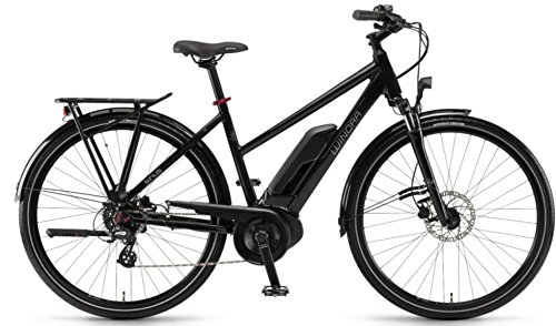 Winora E-Bike Sinus Tria 7eco Unisex Active 400Wh 28\'\' 7v Nero Taglia 52 2018 (City Bike Elettriche) / E-Bike Sinus Tria 7eco Unisex Active 400Wh 28\'\' 7s Black Size 52 2018 (Electric City Bike)