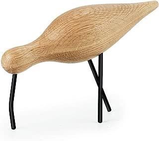 Normann Copenhagen, Wooden Bird, shorebird Large, Black, 100159