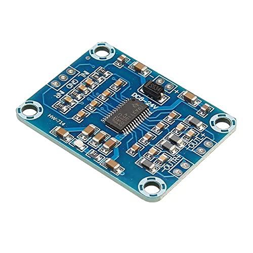 Auoeer Tablero del Amplificador XH-M228 TPA3110 2 * 15W Audio Digital Stere MULTIFFONE AMPLIFICACIÓN MÓDULO Mini Mini Controlador DE AMP BINUAL 100DB DC 8-24V 3A Caja Fuerte y Duradera