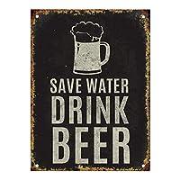 保存ドリンクビールティンサイン壁鉄の絵レトロプラークヴィンテージ金属板装飾ポスターおかしいポスター吊り工芸品バーガレージカフェホーム