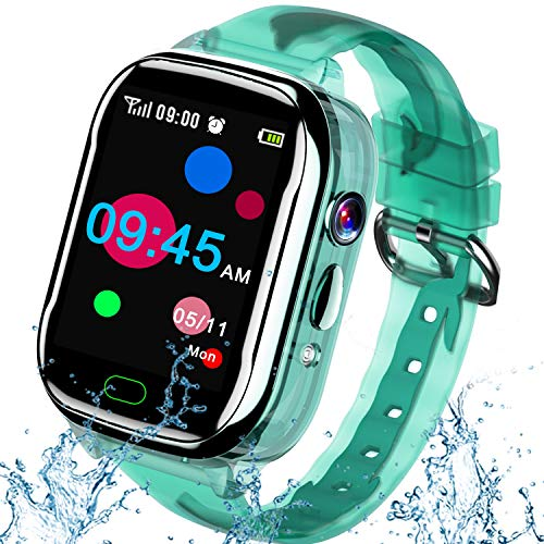 iGeeKid Kids Smart Watch Phone-IP67 Waterproof Smartwatch Boys Girls...