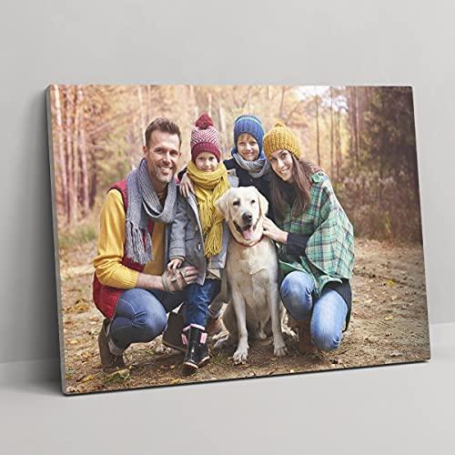 Detalles Creativos Lienzos Personalizados con Foto | Cuadro Personalizado | Lienzo Impreso sobre Bastidor Diferentes tamaños (30x20 cm)