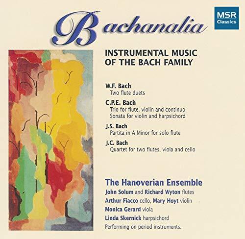 Bachanalia: Instrumental Music of the Bach Family