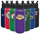 Simple Modern NBA Los Angeles Lakers 32oz Water Bottle with Straw Lid Insulated Stainless Steel Summit