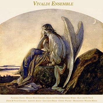 Pachelbel: Canon - Rinaldi: Piano Concerto, Adagio for Oboe & Orchestral Works - Bach: Air On the G