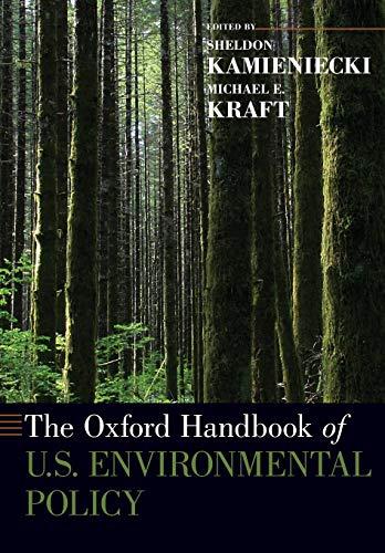The Oxford Handbook of U.S. Environmental Policy (Oxford Handbooks)