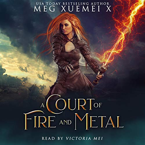 A Court of Fire and Metal audiobook cover art