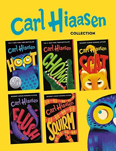 Carl Hiaasen 5-Book Collection: Hoot; Flush; Scat; Chomp; Squirm (English Edition)