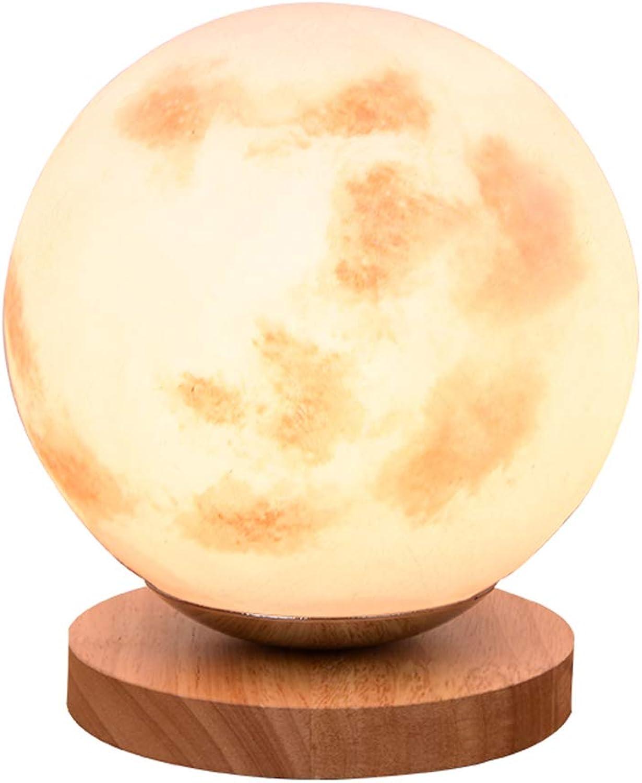 Wangmy Kreative mond tischlampe Nordic einfache Moderne energiesparlampe Schreibtisch Dekoration tischlampe Schlafzimmer nachttischlampe 18  19 cm