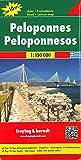 Peloponnes, Autokarte 1:150.000, Top 10 Tips (freytag & berndt Auto + Freizeitkarten) - Freytag-Berndt und Artaria KG