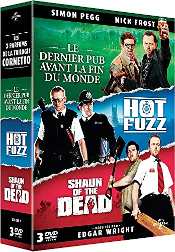 La Trilogie Cornetto : Le dernier pub Avant la Fin du Monde + Hot Fuzz + Shaun of The Dead