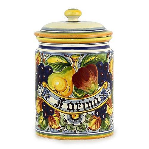 Best Bargain FRUTTA: Round canister Farina [Flour] [#4322-FRU]