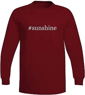 The Town Butler #Sunshine - A Soft & Comfortable Hashtag Men's Long Sleeve T-Shirt