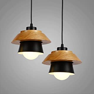 ETH Nordic Mini Aluminum Logs Single Head Small Chandelier Lighting Lamps Restaurant Living Room Bedroom Hotel Irradiation...